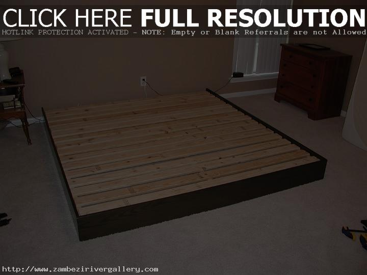 How To Build A Simple Platform Bed Frame U0027What Is A Platform Bed U0027 You